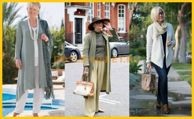 как одеваться женщине в 60 лет стильно