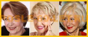 стрижки женские после 60 лет фото