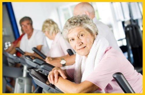 упражнения для похудения после 60 лет женщине
