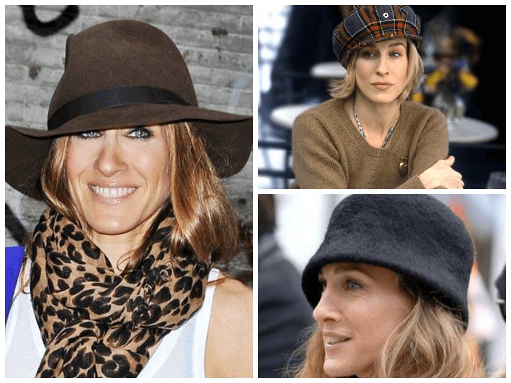 Осенние шапки для пожилых женщин